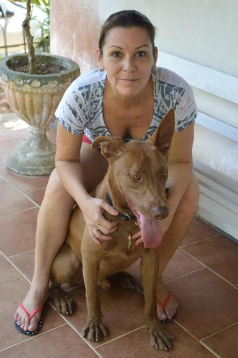 Mino com a mamãe Kátia