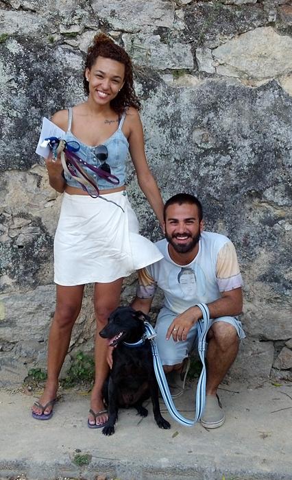 Tunico com seus pais
