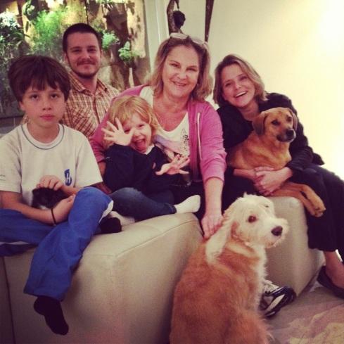 Benny com sua grande família