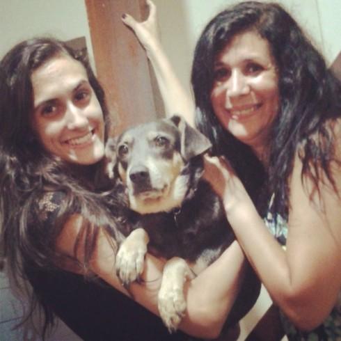 Nina e sua família