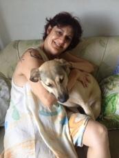 Ghandi com sua mamãe Christina