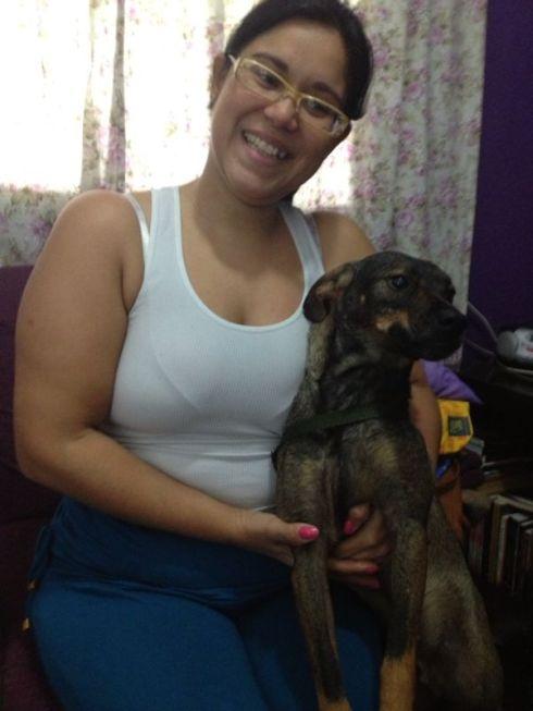 Pedrinho com sua mãe Nathalia
